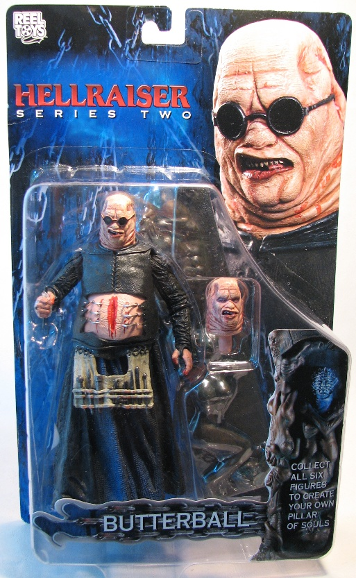 NECA Hellraiser Series 2 Butterball 7 inch NECA, Hellraiser, Action Figures, 2003, horror, halloween, movie