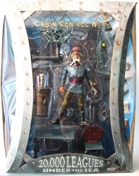 Mezco 20 000 Leagues Under The Sea - Cabin Control Nemo