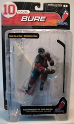 McFarlane 2000 NHLPA Pavel Bure 10  right wing McFarlane, NHL, Action Figures, 2000, sports, pro league