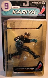 McFarlane 2000 NHLPA Paul Kariya 9 left wing McFarlane, NHL, Action Figures, 2000, sports, pro league
