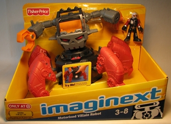 Fisher-Price Imaginext - Motorized Villain Robot w fig Fisher-Price, Imaginext, Preschool, 2010, adventure