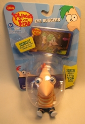 Phineas and Ferb: Eye Buggers - Phineas Jakks, Phineas and Ferb, Action Figures, 2010, animated, tv show