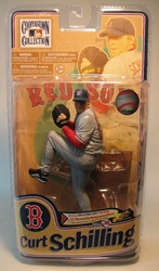 McFarlane 2011 Cooperstown Curt Shilling 7 inch figure McFarlane, Baseball, Action Figures, 2011, sports, pro league