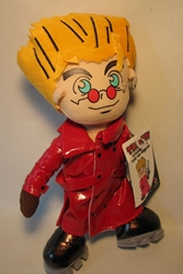 Trigun - Superdeformed Vash The Stampede 13 inch plush Toy Vault, Trigun, Plush, 2008, fantasy, western, japan