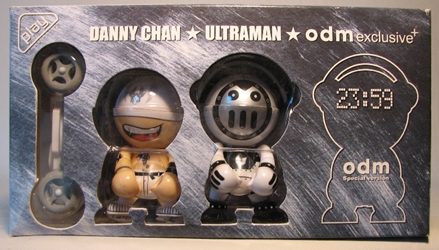 Trexi Box set: Danny + Ultraman + odm 3 inch figures Gus Fink, Trexi, Action Figures, 2005, kidfare, design
