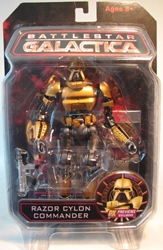 Diamond Select Battlestar Galactica Razor Cylon Commander Diamond Select, Battlestar Galactica, Action Figures, 2009, scifi, tv show