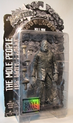 Sideshow Universal Studios Monsters Mole Man 8 inch Sideshow, Universal Studios Monsters, Action Figures, 2001, horror, halloween, movie