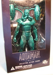 DC Direct  Justice League 7 Armored Aquaman 7+inch DC Direct, Justice League, Action Figures, 2007, superhero, comic book