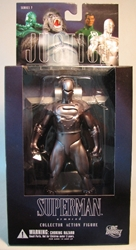 DC Direct  Justice League 7 Armored Superman 7 inch DC Direct, Justice League, Action Figures, 2007, superhero, comic book