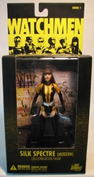Watchmen Series 1 Sexy Silk Specter 6.5 inch (Modern) DC Direct, Watchmen, Action Figures, 2009, scifi, comic book