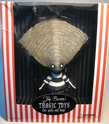 Tim Burtons Tragic Toys - The Oyster Boy 8.5 inch Dark Horse, Tim Burtons Tragic Toys, Action Figures, 2009, horror, halloween, book
