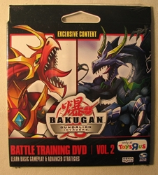 Bakugan Battle Training DVD vol 2 Basic Gameplay+ Spin Master, Bakugan, Transformers, 2010, fantasy, game