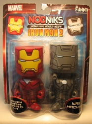 Funko Nodniks 2-pack Iron Man  + War Machine Funko, Iron Man, Transformers, 2010, scifi, movie