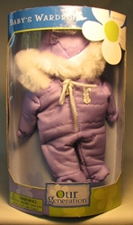 Our Generation Babys Wardrobe Snow Suit
