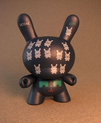 Cute 3 inch Bunny - Bunnoids (dark navy) China, Cute Bunny, Anime Figures, 2008, vinyl