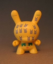 Cute 3 inch Bunny - Bunnoids (yellow) China, Cute Bunny, Anime Figures, 2008, vinyl