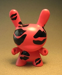 Cute 3 inch Bunny - Lips (pink) China, Cute Bunny, Anime Figures, 2008, vinyl