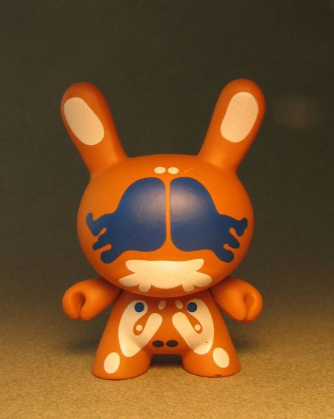 Cute 3 inch Bunny - Agony (orange) China, Cute Bunny, Anime Figures, 2008, vinyl