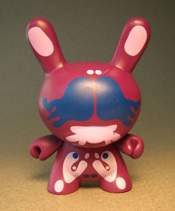 Cute 3 inch Bunny - Agony (burgundy) China, Cute Bunny, Anime Figures, 2008, vinyl