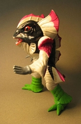Power Ranger 7.5 inch Space Alien Pirantus Head - loose Bandai, Power Rangers, Action Figures, 1993, scifi, tv show