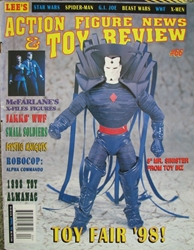 Action Figure News & Toy Review #66 - April 1998 Lee Publications, Action Figure News & Toy Review, Magazines, 1998, collectible, magazine