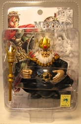 Yamato Maximo 3 inch King Achille  Yamato, Maximo, Action Figures, 2001, fantasy, video game