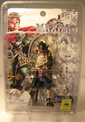 Yamato Maximo 3 inch Capt Cadaver Yamato, Maximo, Action Figures, 2001, fantasy, video game
