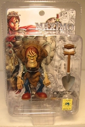 Yamato Maximo 3 inch Ghastly Gus Yamato, Maximo, Action Figures, 2001, fantasy, video game
