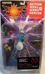 Capcom Vampire Savior Bulleta (blue dress) Capcom, Vampire Savior, Action Figures, 1999, vampires, video game