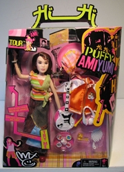 Mattel Puffy Ami Yumi World Tour - Ami doll w sound