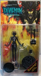Fewture Devilman Miki Limited Color Variant (black) Fewture, Devilman, Action Figures, 2000, horror, halloween, japan
