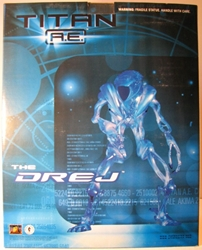 Dark Horse Titan AE The Drej 12 Resin Statue MIB LE2K Dark Horse, Titan AE, Statues, 2000, scifi, movie