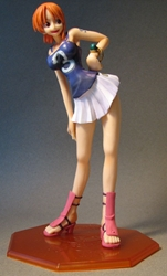 One Piece POP Nami cheerleader 8 inch LOOSE China, One Piece, Anime Figures, 2005, anime, japan