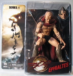 NECA 300 Series 1 Ephialtes 6 inch figure MOC NECA, 300, Action Figures, 2007, historical, movie