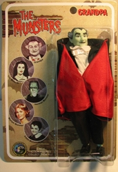 The Munsters 8 inch Granpa - Mego-like Figures Toy Co, Munsters, Action Figures, 2004, comedy, tv show