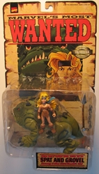Toy Biz 1998 Marvels Most Wanted - Spat and Grovel Toy Biz, Marvel, Action Figures, 1998, superhero, comic book