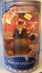Disney Ratatouille Emile (rat) 6 inch Disney Pixar, Ratatouille, Action Figures, 2007, animated, movie
