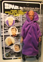 Space 1999 8 inch Mego-like fig: Mysterious Alien Figures Toy Co, Space 1999, Action Figures, 2005, scifi, tv show