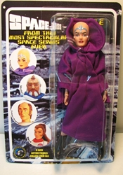 Space 1999 8 inch Mego-like fig: Female Alien Figures Toy Co, Space 1999, Action Figures, 2005, scifi, tv show