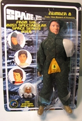 Space 1999 8 inch Mego-like fig: Number 8 Figures Toy Co, Space 1999, Action Figures, 2005, scifi, tv show