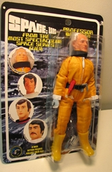 Space 1999 8 inch Mego-like fig: Prof Bergman spacesuit Figures Toy Co, Space 1999, Action Figures, 2005, scifi, tv show