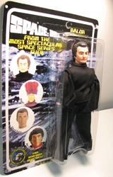 Space 1999 8 inch Mego-like fig: Balor Figures Toy Co, Space 1999, Action Figures, 2005, scifi, tv show