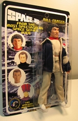 Space 1999 8 inch Mego-like fig: Bill Fraser Figures Toy Co, Space 1999, Action Figures, 2005, scifi, tv show