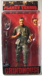 NECA Grindhouse Planet Terror - Tarantino as Rapist NECA, Grindhouse, Action Figures, 2007, horror, halloween, movie