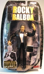 Rocky Announcer Michael Buffer Jakks, Rocky, Action Figures, 2007, sports, movie