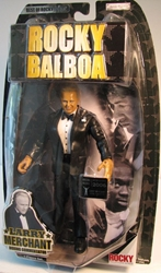 Rocky Announcer Larry Merchant Jakks, Rocky, Action Figures, 2007, sports, movie