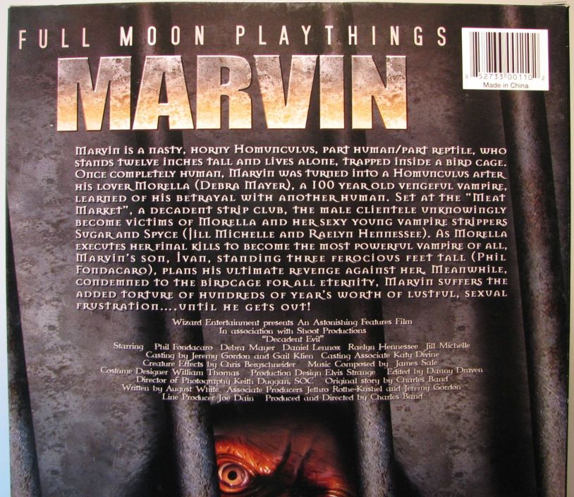 Full Moon Playthings Marvin 13 inch(Decadent Evil) - 1829-3537CCCTYC