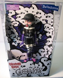 Bleeding Edge Goths 7 inch Series 1 Belladonna Bleeding Edge, Goths, Action Figures, 2003, fashion, counterculture