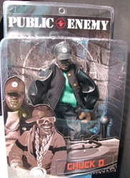 Mezco Public Enemy Chuck D Mezco, Public Enemy, Action Figures, 2006, rock, rock