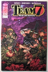 Team 7 Dead Reckoning 1 Image, Team 7, Comic Books, 1996, military, comic book